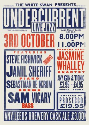 Jazz Poster october